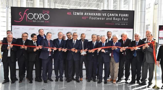SHOEXPO İzmir, 40. kez açıldı