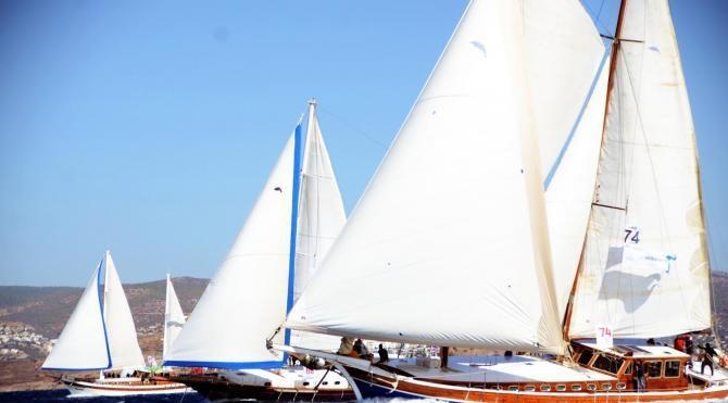 Bodrum'da yelken yarışları heyecanı başladı (2)