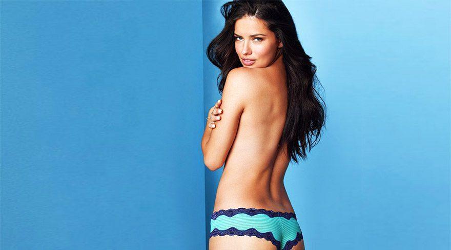 Adriana Lima'dan sportif fotoğaf çekimi