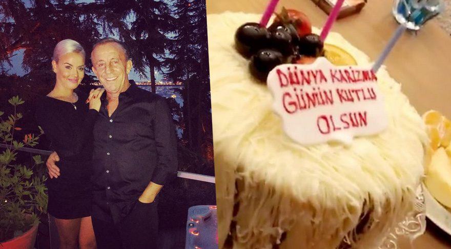 Sevgilisi Ali Ağaoğlu'nun Dünya Karizma Günü'nü kutladı
