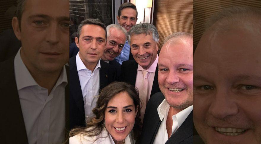 Metin Şen'den Ali Koç'lu paylaşım