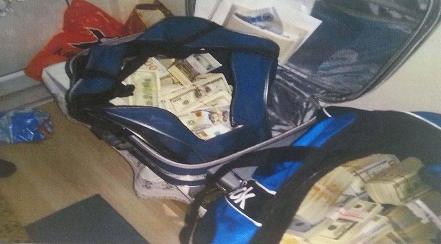 FETÖ üyesi ayakkabı kutusunda yaklaşık 1 milyon dolarla yakalandı