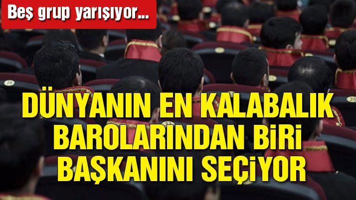 İstanbul Barosu seçimlerinde 5 grup yarışacak