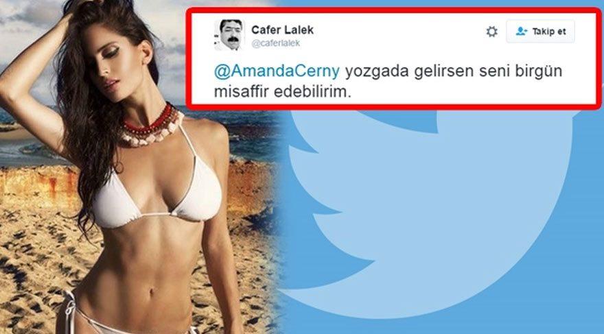 Amanda Cerny'den Yozgatlı Dayı Cafer Lalek'e evlilik teklifi