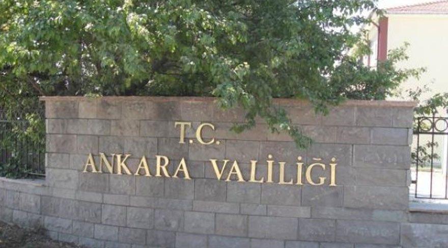 Ankara'da 30 Kasım'a kadar gösteri yasağı