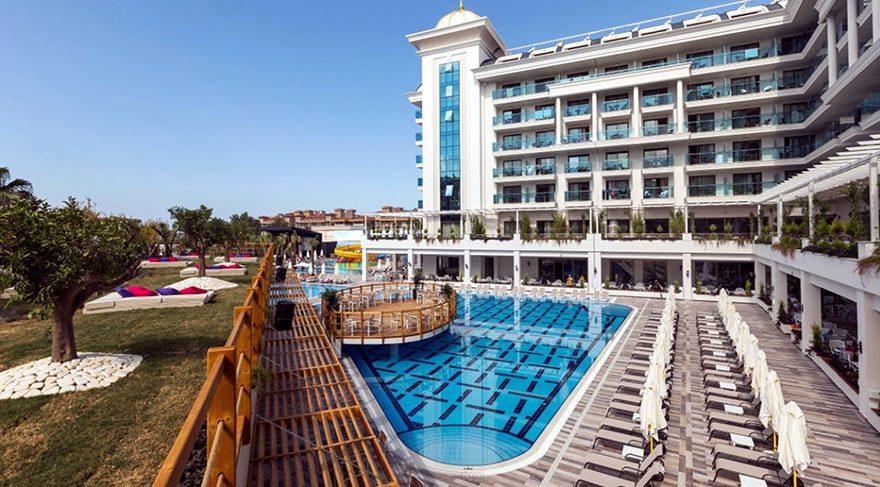 Manavgat'ta 5 yıldızlı otele haciz