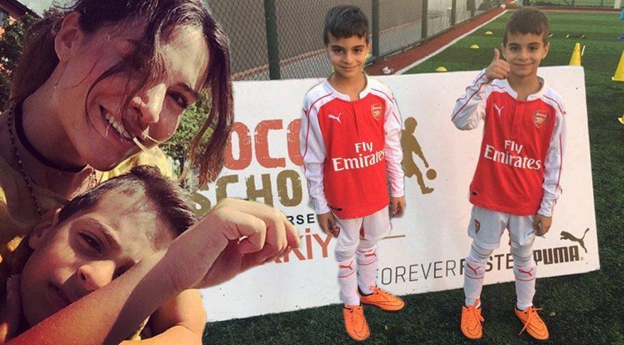 Yılmaz Erdoğan ve Belçim Bilgin Erdoğan'ın oğlu Rodin, Arsenal'e transfer oldu