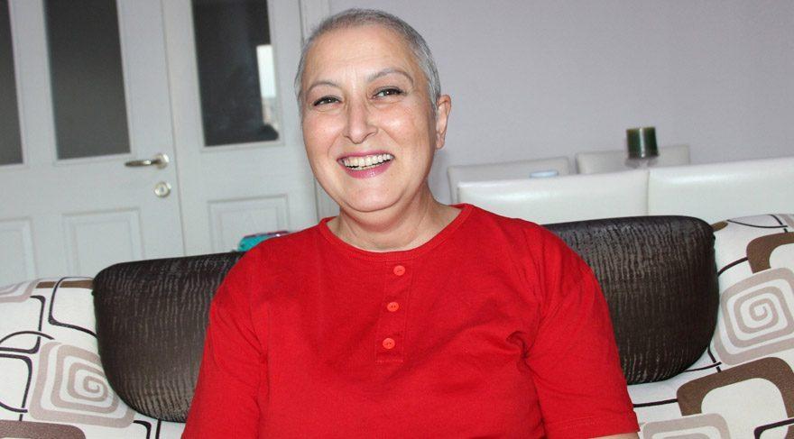 Kanserle ilgili kamu spotunda oynayan kadın kanser oldu... Erken teşhisin önemini yaşayarak gösterdi