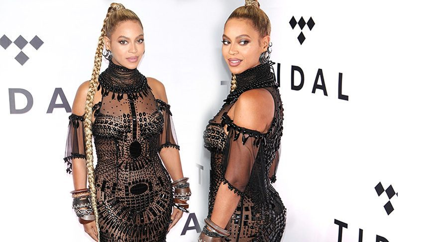 Beyonce'nin kulağı yaralandı
