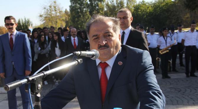 Gaziantep'te 'etkinlik yasağına' rağmen Muhtarlar Günü kutlandı