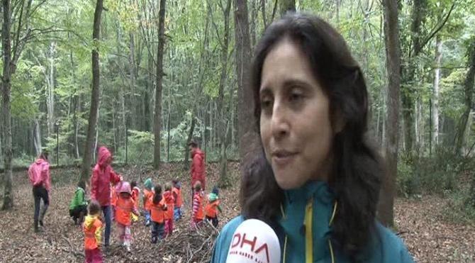 Çocuklar orman anaokullarında doğayı keşfediyor