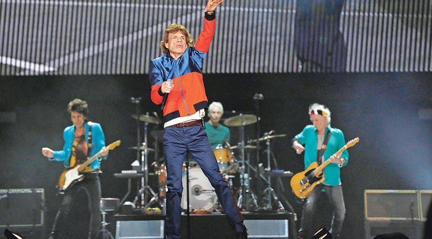 Rolling Stones'u izlediler