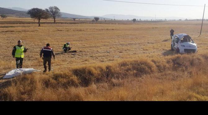 Isparta'daki kazada 5 yabancı uyruklu öğrenciden 2'si öldü, 3'ü yaralandı