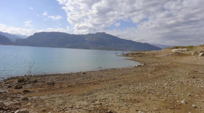 Ermenek Baraj Gölü'nde FETÖ'ye ait kitap ve CD'ler bulundu
