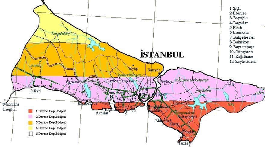 deprem istanbul ile ilgili görsel sonucu
