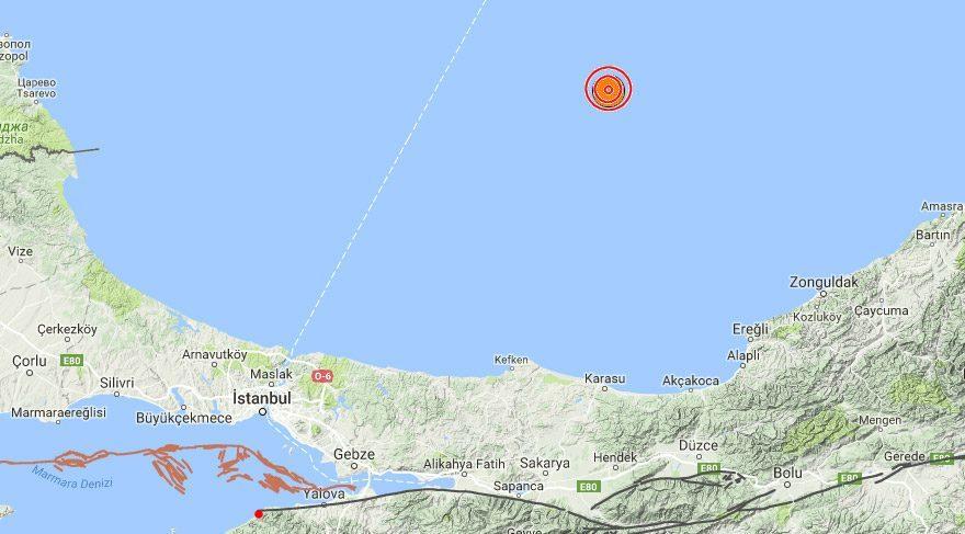 Son dakika haberleri... Karadeniz'de deprem
