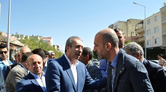 AK Partili Eker'den, ölen başkanın ailesine taziye ziyareti