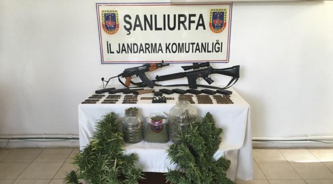 Siverek'te kaçakçılık ve uyuşturucuya 1 gözatı