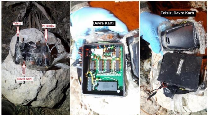 Diyarbakır Bingöl karayoluna döşenen patlayıcı imha edildi