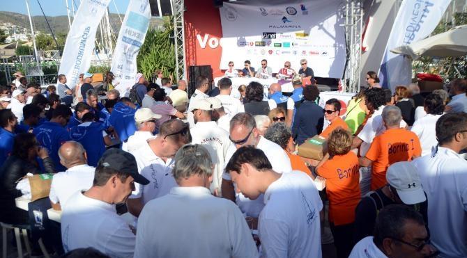 Bodrum'da yelken yarışları heyecanı başladı