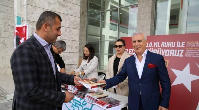 Nilüfer İlçesi, 29 Ekim'de 50 bin Atatürk posteriyle donatılacak