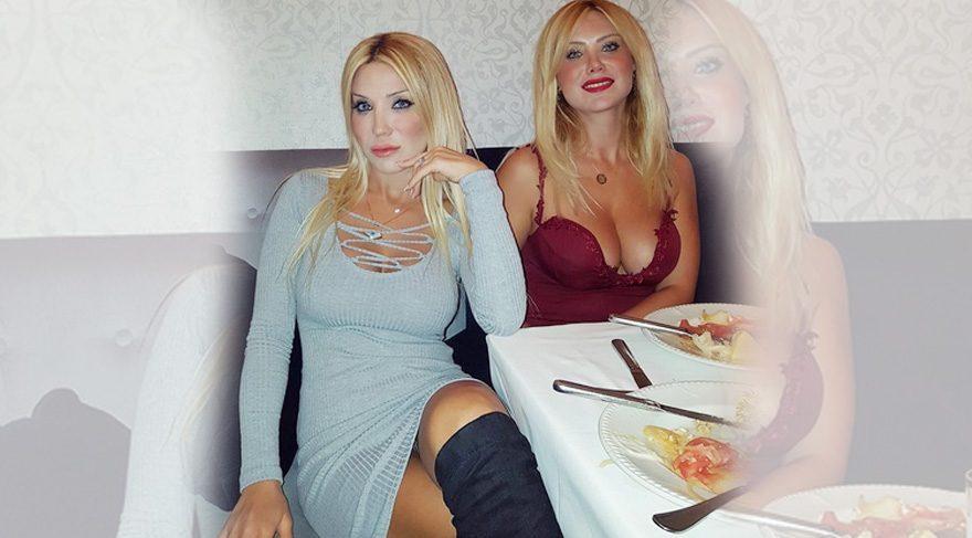 Cicişler birlikte çıktıkları yemekten paylaştı