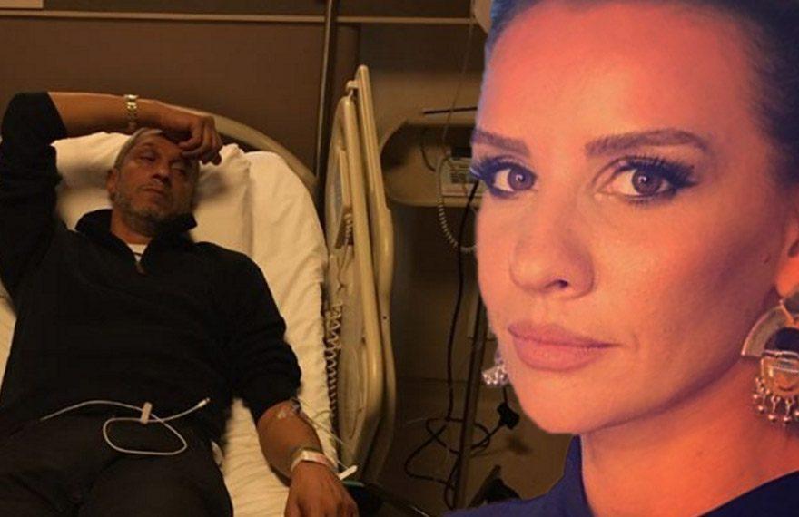 Esra Erol'un hastane paylaşımı