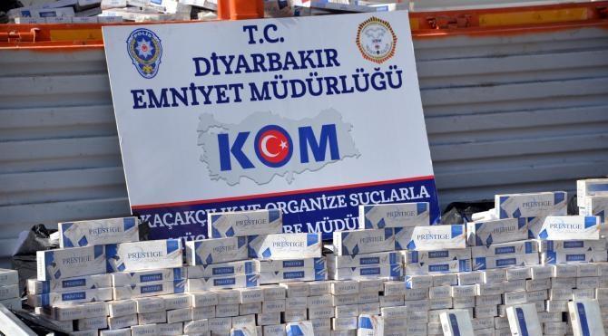 Diyarbakır'da kaçakçılara büyük darbe
