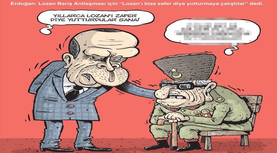 Gırgır bu haftaki kapağına Lozan Antlaşması'nı taşımış