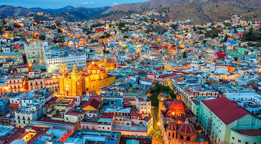 Enerjisini renklerden alan kentler