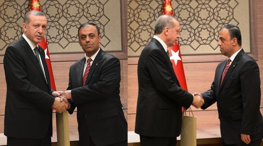 Gürsel Özbey, Cumhurbaşkanı Erdoğan ile iki kez görüştüğünü belirtti.