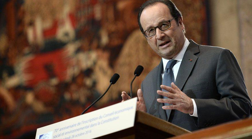 Fransa Cumhurbaşkanı Hollande'dan tarihi özür