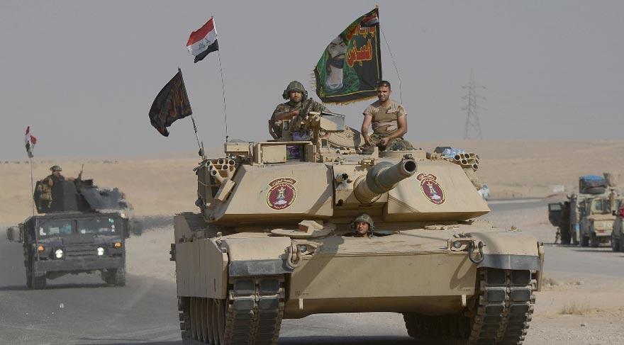 Irak ordusunda dikkat çeken ayrıntı!