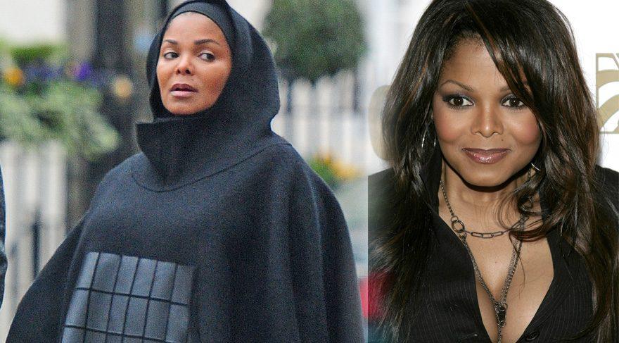 Janet Jackson'un tesettür hali