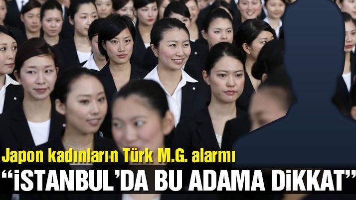 Japon kadınların korkulu rüyası Türk hanutçu!