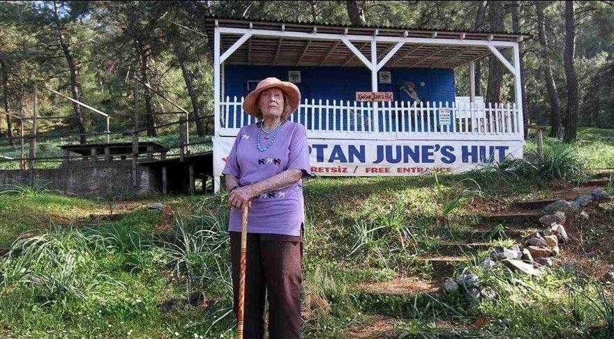 June Haimoff'un yaşamı film oluyor