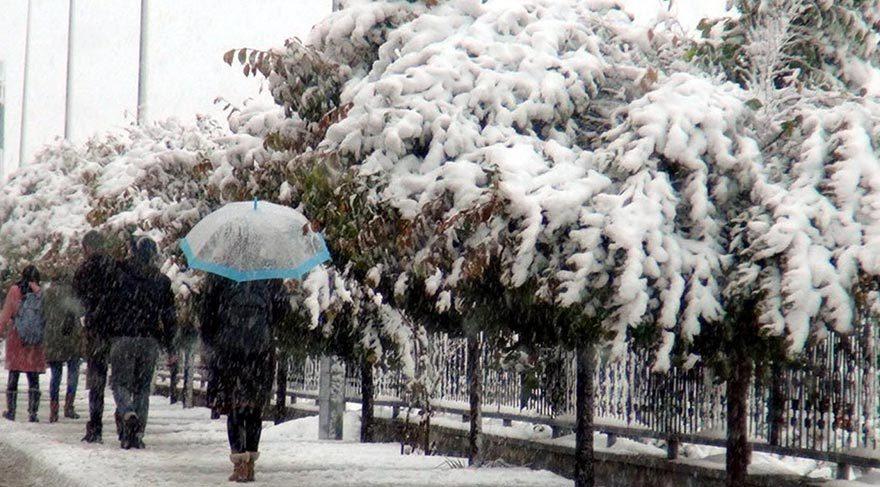 Doğuya kış geldi, Kars kent merkezi kar altında