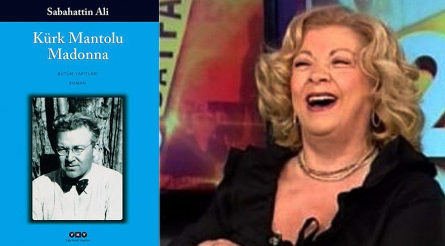 Sosyal medya yıkıldı! Funda Özkalyoncu 'Kürk Mantolu Madonna'yı şarkıcı Madonna sandı