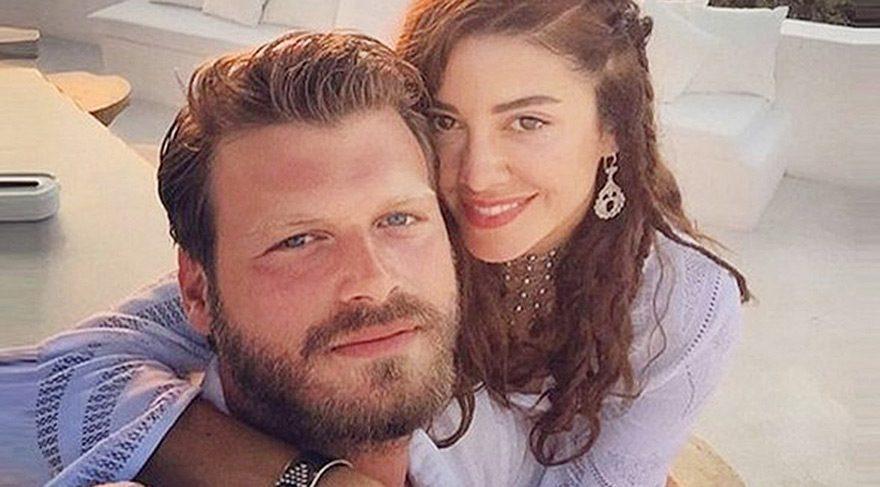 Başak Dizer, kocası Kıvanç Tatlıtuğ'un doğum gününü kutladı