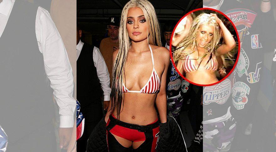 Kylie Jenner, Christina Aguilera'ya özendi