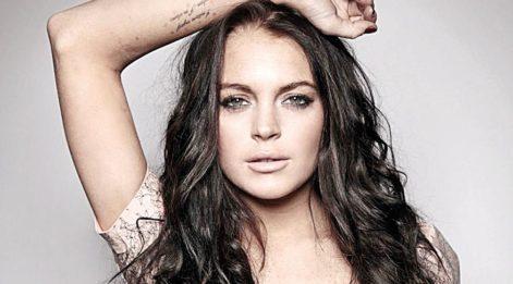 Lindsay Lohan'dan tuvalet selfiesi
