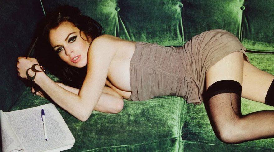 Lindsay Lohan'dan seksi 'cadılar bayramı' paylaşımı