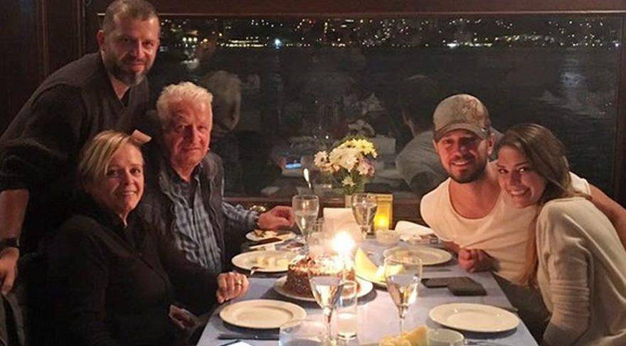 Murat Boz, babası Cafer Boz'un doğum gününü kutladı