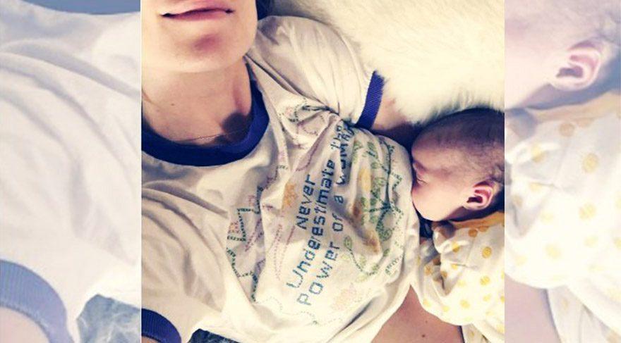 Olivia Wilde, bebeğini emzirirken fotoğraf paylaştı
