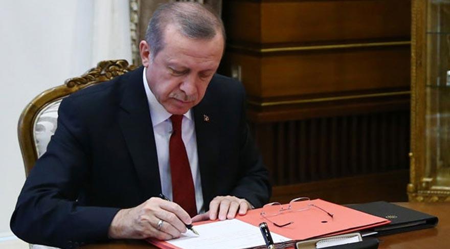Cumhurbaşkanı Erdoğan üç kanunu onayladı!