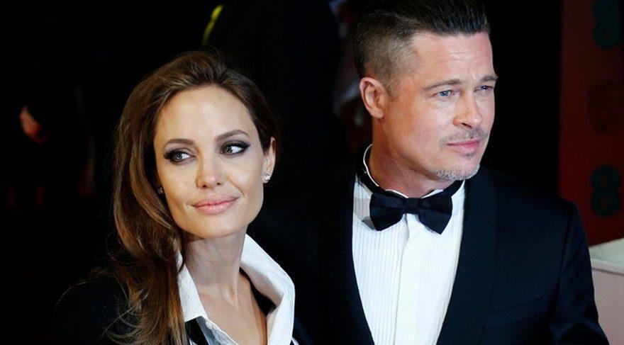 Angelina Jolie ve Brad Pitt boşanma sonrası ilk kez görüştü