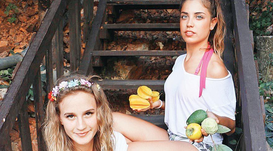 Tropik meyveleri güzeller tanıttı