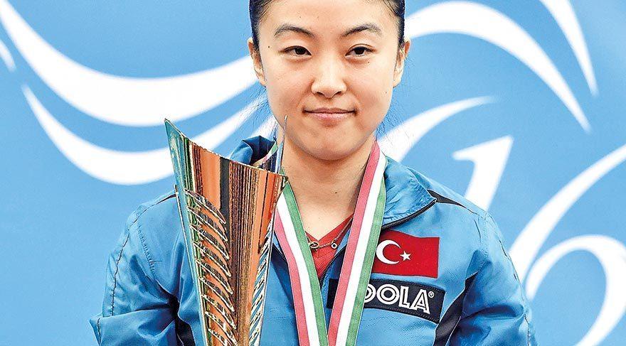 Melek Hu Avrupa Şampiyonu
