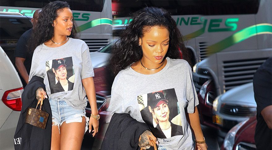 Rihanna'dan Hillary Clinton'a destek