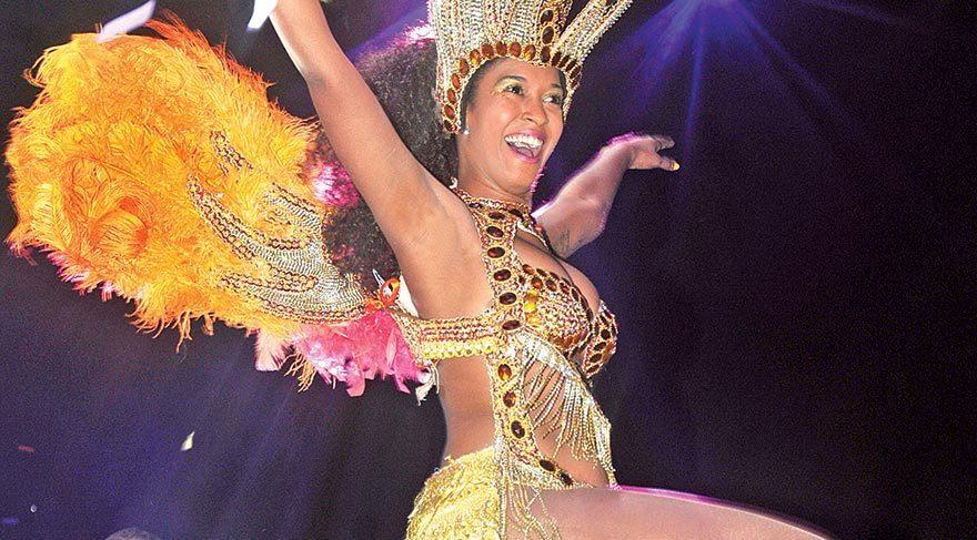 Festivalde samba rüzgarı
